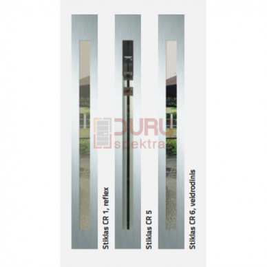 Lauko durys Corte VPK2-CR1 3